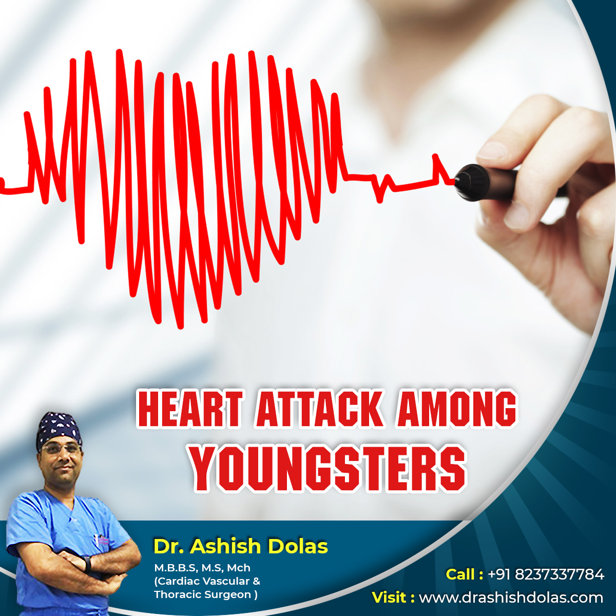 Heart Attack among Youngsters_Dr. Ashish Dolas