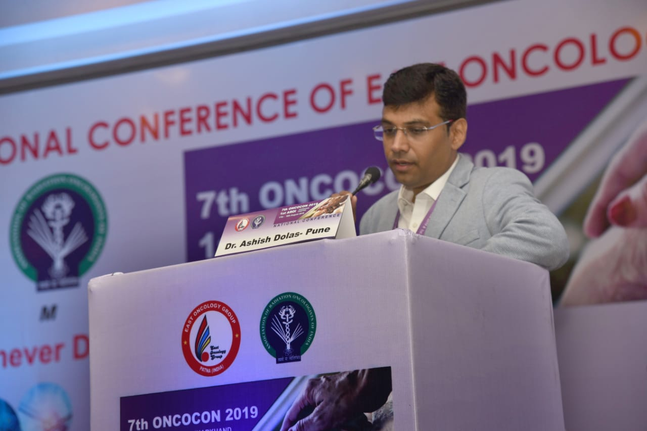 Dr. Ashish Dolas_7th National Conference Of East Oncology Group