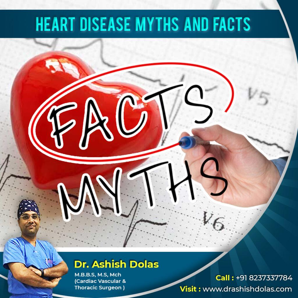 Heart Disease Myths & Facts by Dr. Ashish Dolas